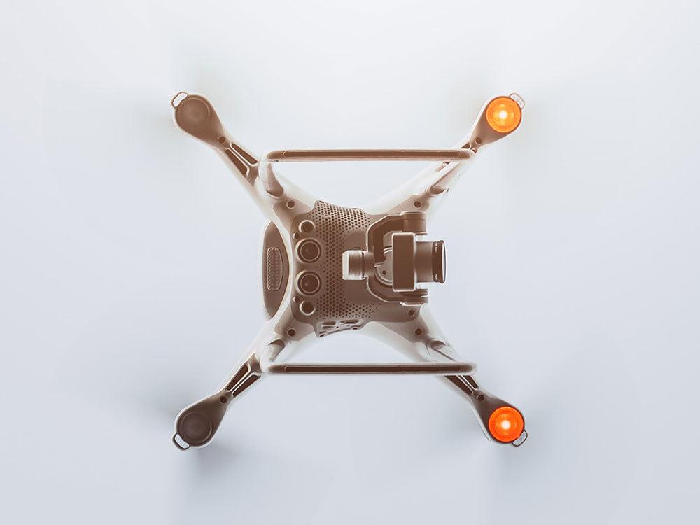 Drone underside