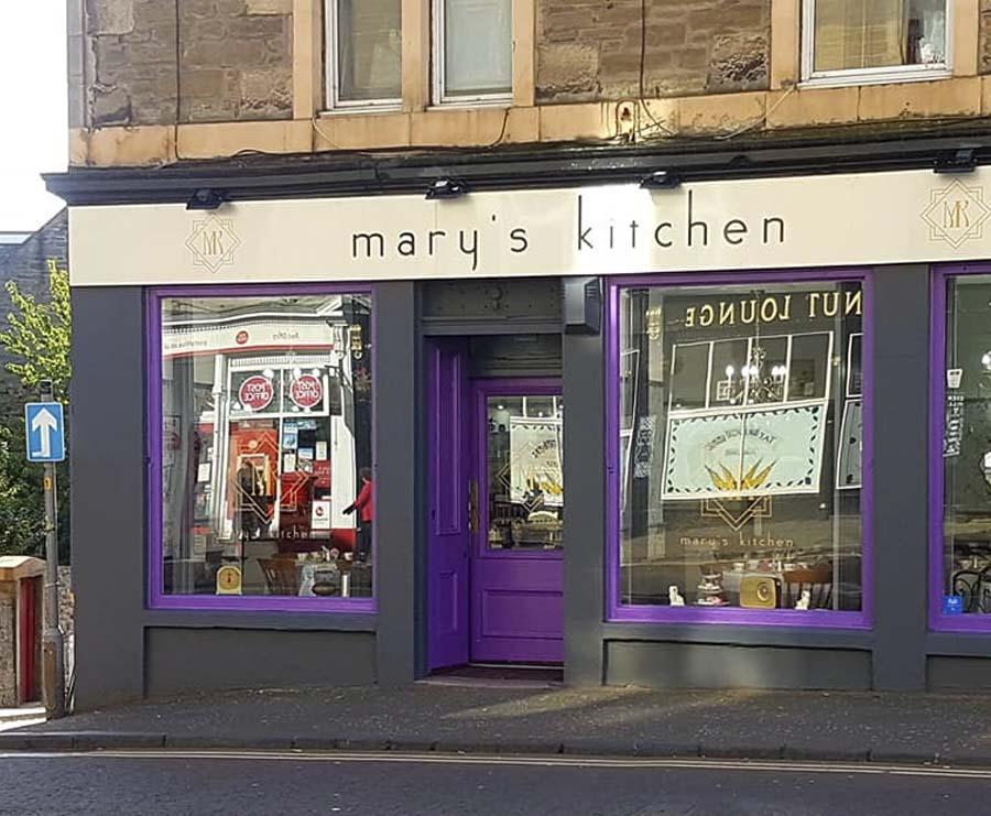 Mary's Kitchen façade Dundee