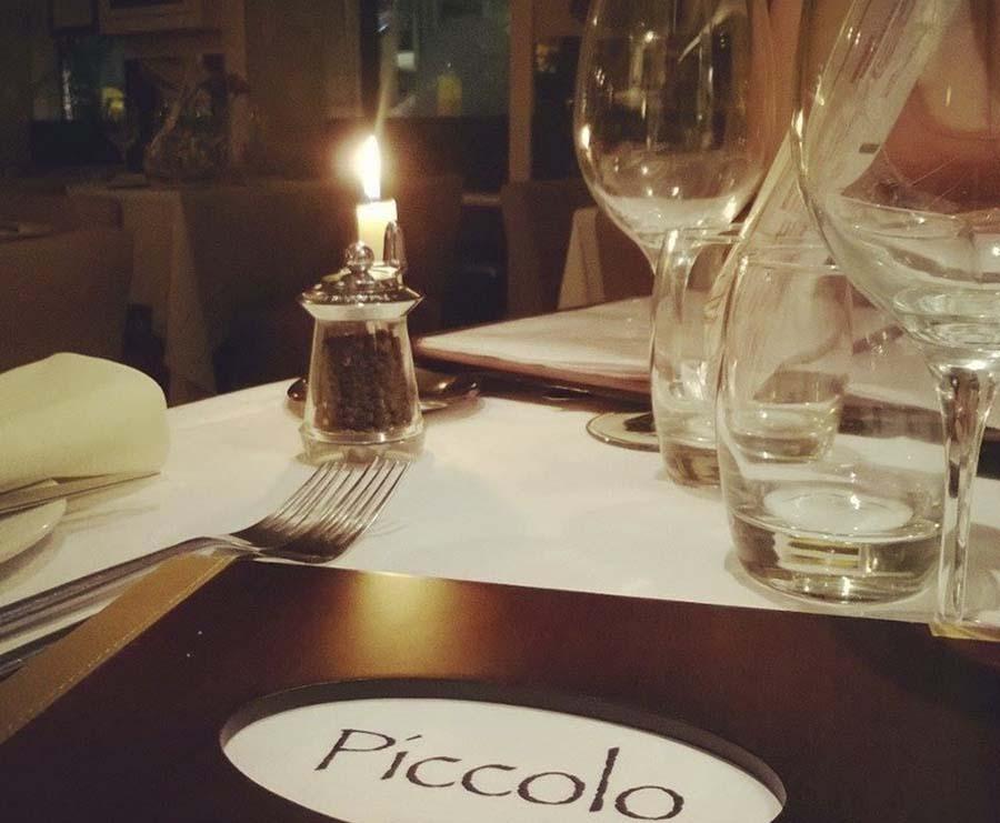 Piccolo Restaurant menu